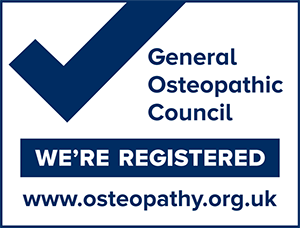 Registered With the General Osteopathic Council